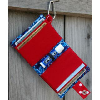 In The Hoop :: Bags, Cases & Wallets :: Chapstick Credit Card Wallet - Embroidery Garden In the Hoop Machine Embroidery Designs