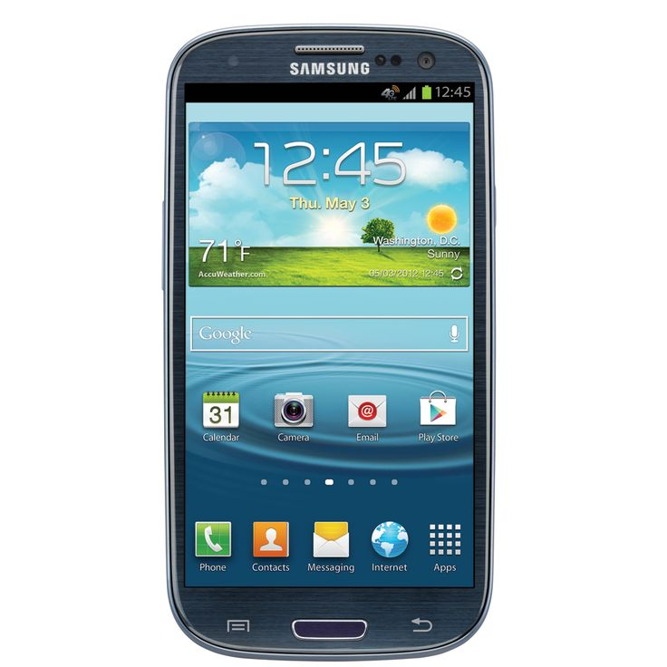 Samsung Galaxy S III (AT). Can't do without it.