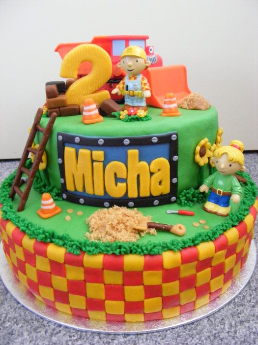 Bob the builder by dutchcakes. The baker used toys, though.