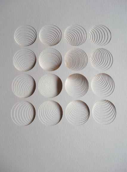 Ghostly 9 by Matt Shlian #paper_art #perspective