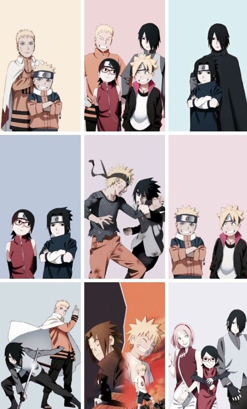 Nice! The lives of Naruto and Sasuke