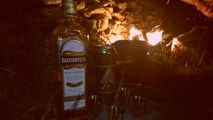 BBQ before midnight under Carrauntoohil, County Kerry