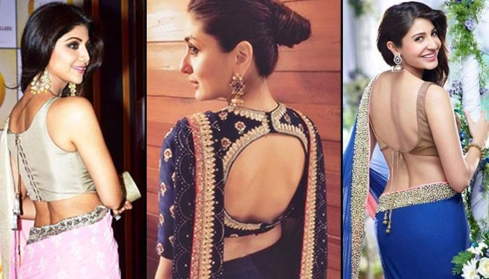 22 Beautiful Back Designs For Your Saree Blouses That Will Make You Look All The More Graceful