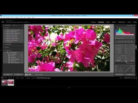 ย้อมสีวีดีโอ (color grading) โดย adobe lightroom - YouTube