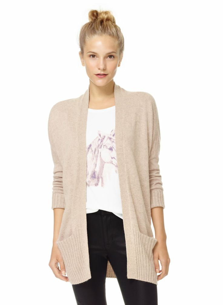 TALULA LENOX SWEATER - Wrap up for warmth in this ultra-soft open-front cardigan
