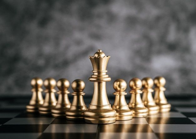 Download Gold Chess On Chess Board Game For Business Metaphor Leadership Concept For Free Xadrez Jogo Tabuleiro De Xadrez Jogo De Xadrez