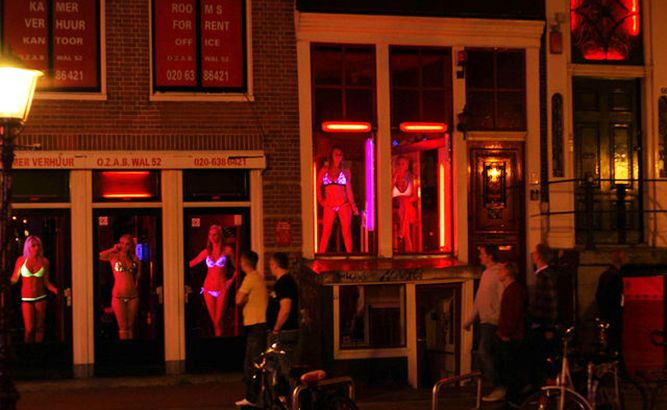 необычный Амстердам