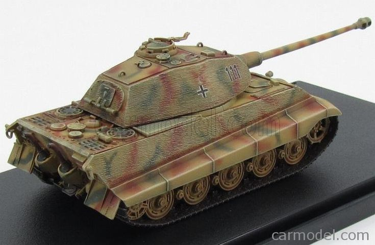 DRAGON ARMOR 60105 Scale 1/72  TANK KING-TIGER s.Pz.Abt. 503 W/ZIMMERIT OHRDRUF TRAINING 1944 MILITARY CAMOUFLAGE