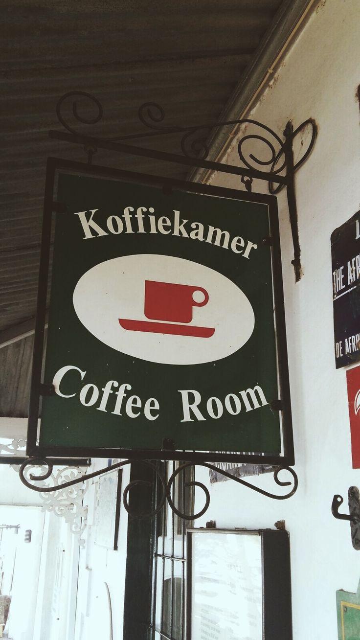 Stellenbosch coffee shops.