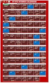 Resultado de imagen de tapout xt calendar