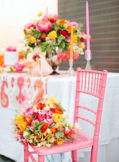 pink + orange party details Photography by Jodi Miller Photography / jodimillerphotography.com, Floral   Event Design by JM Flora Design / jmfloradesign.com, Event Design by Merriment / merrimentevents.com