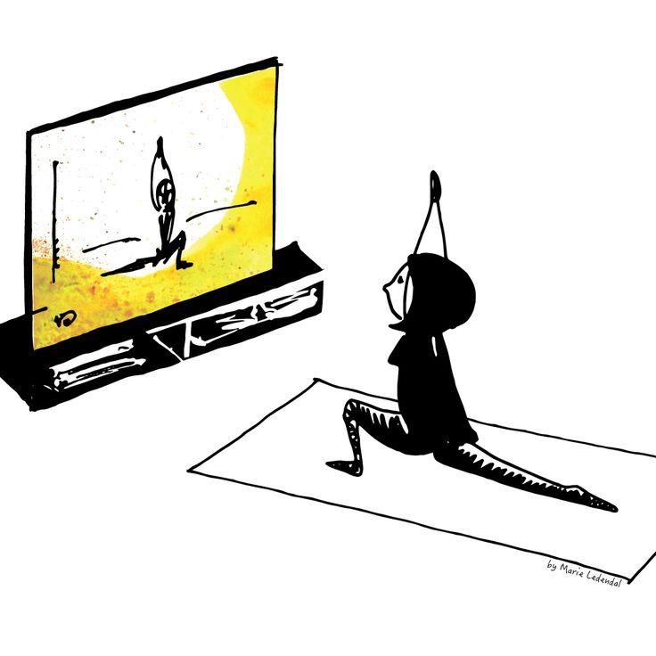 Vet du? Jag har upptäckt online yoga. Så himla bra! Det gör det så mycket lättare att yoga hemma. Och det bästa av allt är att jag kan yoga med några av mina yogalärar-favoriter, när jag vill. Det finns ett flertal alternativ att välja bland t.ex. Yogaglo, Familyoga och Yogobe. Jag har dock inte bestämt mig för vilken jag gillar bäst ännu… Hur gör du när du yogar hemma? /Liv
