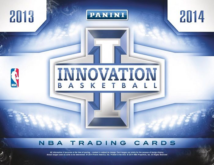 2013-14 Panini Innovation Basketball Hobby Box
