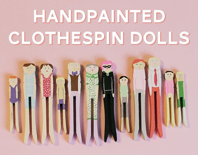 Clothespin people: Crafts Ideas, Little Crafts, Minute Homemade, Clothespins Crafts, Homemade Stockings Stuffers, Clothespins Dolls, Families Crafts, Handpaint Clothespins, Birthday Parties Crafts