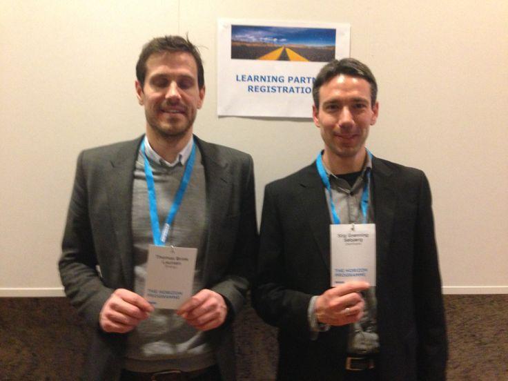 Learning partners: Thomas L & Stig
