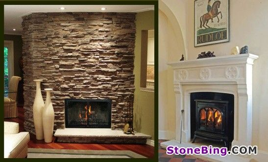 Cultured stone fireplaces cultured stone fireplace cost for Buy stone for fireplace