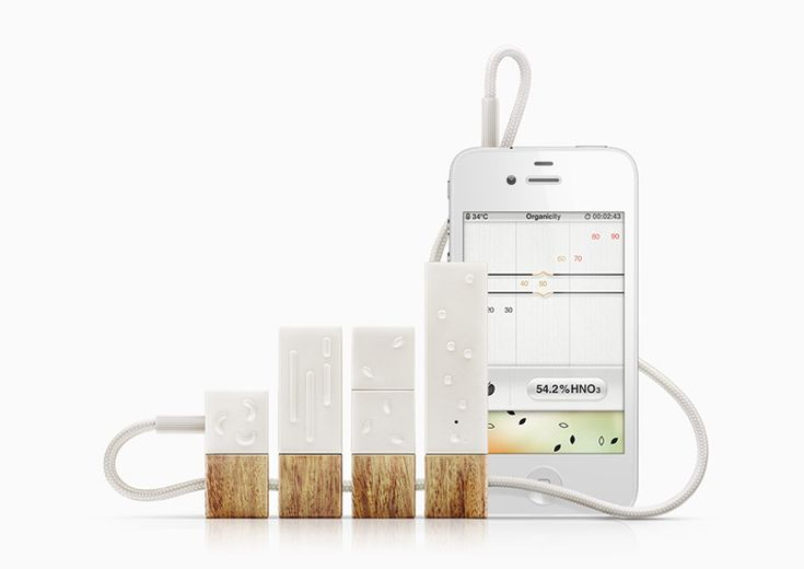 Interesting new product lapka: bacteria, radiation and EMF detection device for iPhones