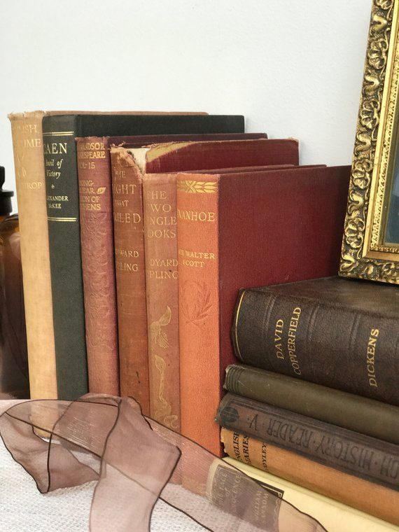 Rustic Decor Brown Vintage Books Old Decoratio For Interior And Styling Anthileoni