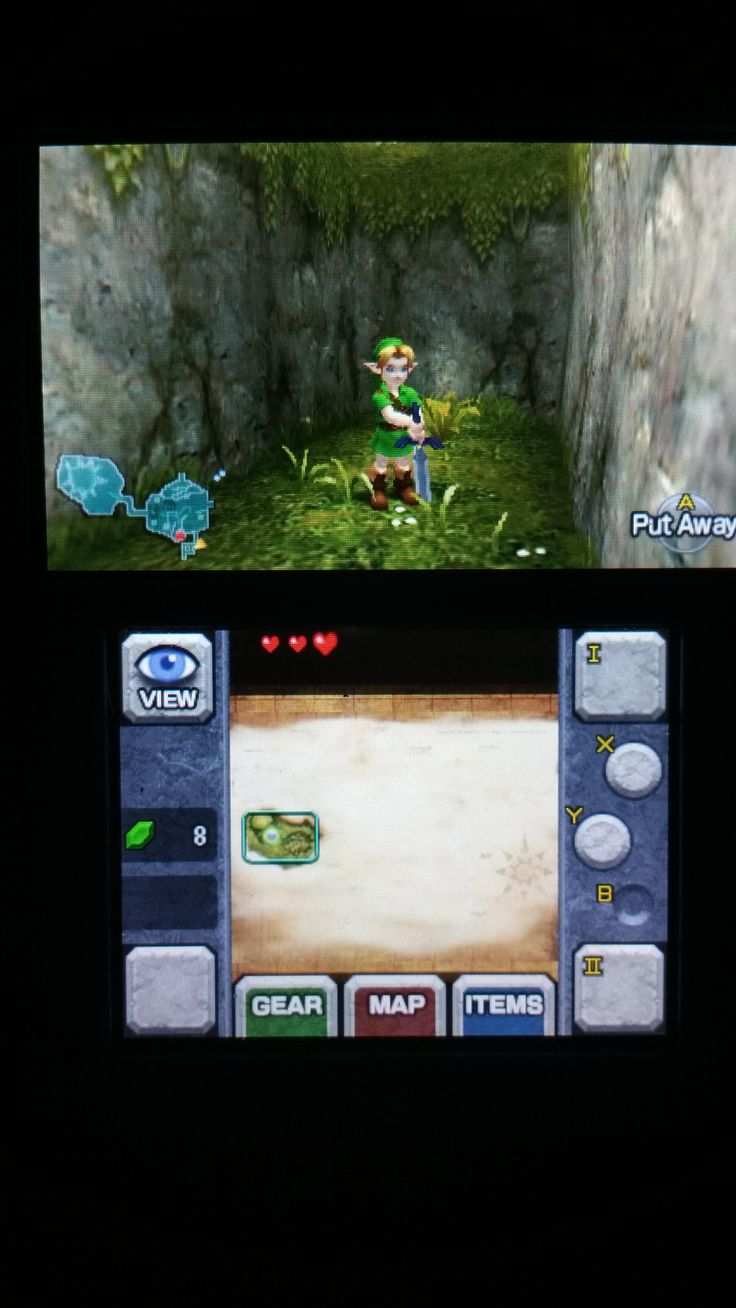 I'm new to Legend of Zelda: Ocarina of Time-Master Quest but this definitely seems off.
