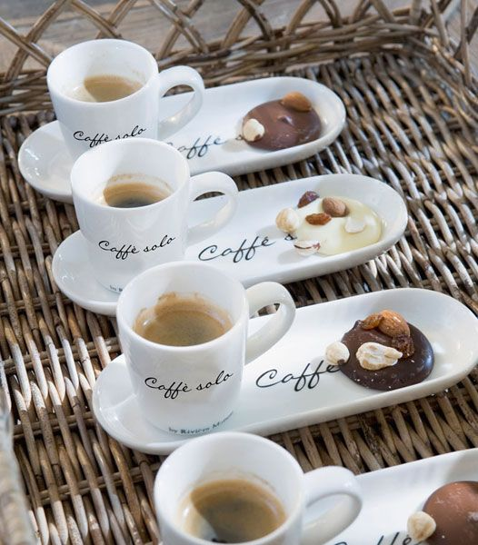 Matching Coffee Cup And Dessert Plate