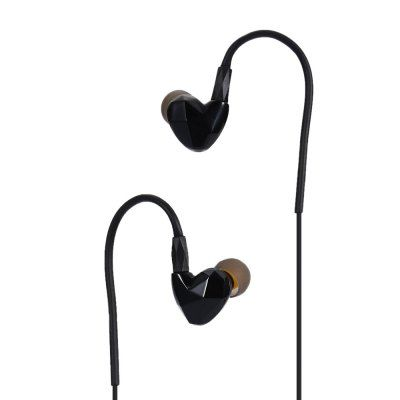 Vots DQ100 Dual Moving Coil Sport Earphone with Microphone #jewelry, #women, #men, #hats, #watches