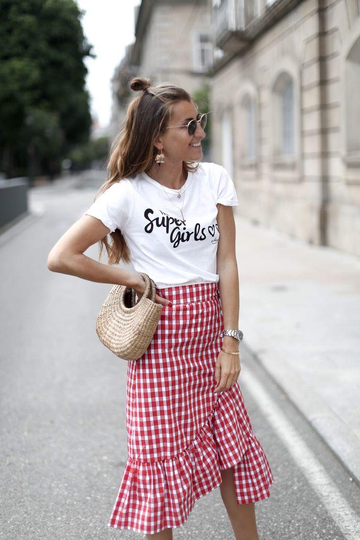 best 25+ gingham skirt ideas on pinterest | summer style 2017
