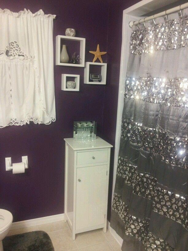 1000 ideas about purple bathrooms on pinterest bathroom. Black Bedroom Furniture Sets. Home Design Ideas