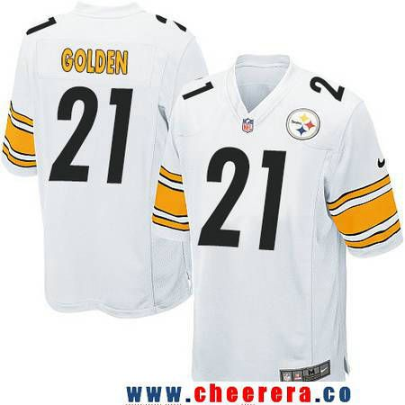 eaba4920c ... 55 Limited Salute to Service Mens Pittsburgh Steelers 21 Robert Golden  White Road Stitched NFL Nike Game Jersey Arthur Moats ...