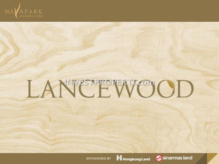 Brosur cluster Lancewood NavaPark BSD #navaparkbsd
