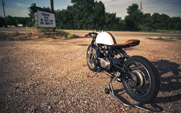 CB500 by Kinetic   Inazuma café racer