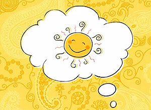 Tarjeta de Hola, ¡Que tengas un día GENIAL!. ¿Qué necesitas para que tu día sea realmente espectacular? Eso que estás pensando... espero que se te haga realidad HOY. ¡Que tengas un día absolutamente GENIAL!. www.CorreoMagico.com