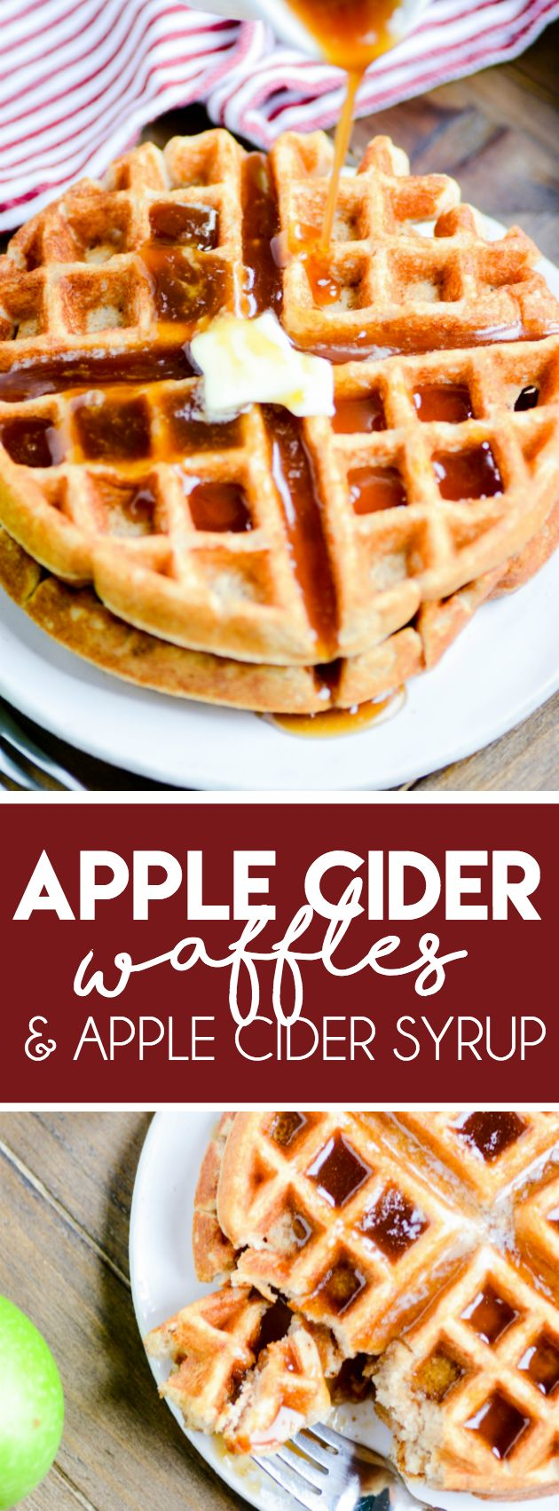Apple Cider Buttermilk Waffles & Caramel Apple Cider Syrup http://www.somethingswanky.com/apple-cider-buttermilk-waffles-caramel-apple-cider-syrup/?utm_campaign=coschedule&utm_source=pinterest&utm_medium=Something%20Swanky&utm_content=Apple%20Cider%20Buttermilk%20Waffles%20and%20Caramel%20Apple%20Cider%20Syrup