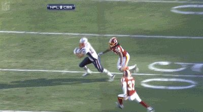And defenders. | 17 Reasons Rob Gronkowski Is God's Gift To Football Fans