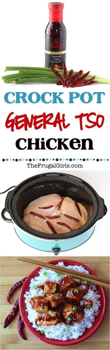 Crock Pot General Tso Chicken Recipe! ~ from TheFrugalGirls.com ~ kick up the flavor of your Crockpot Chicken Dinner and gain rave reviews with this asian inspired deliciousness! Just a few easy ingredients!