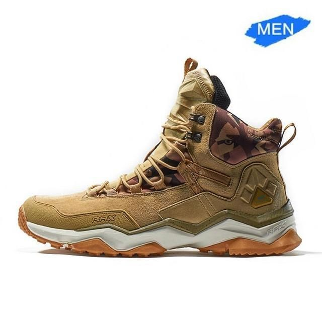 2017 Waterproof Lace-up Boots, Men / Women, Hiking / Climbing / Walking Shoes