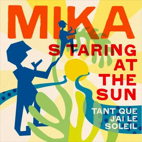 Mika Staring At The Sun single cover art