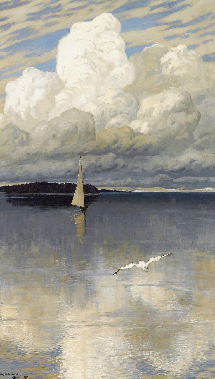 Calm Waters, 1910, Vladimir Nikolaevich Fedorovich