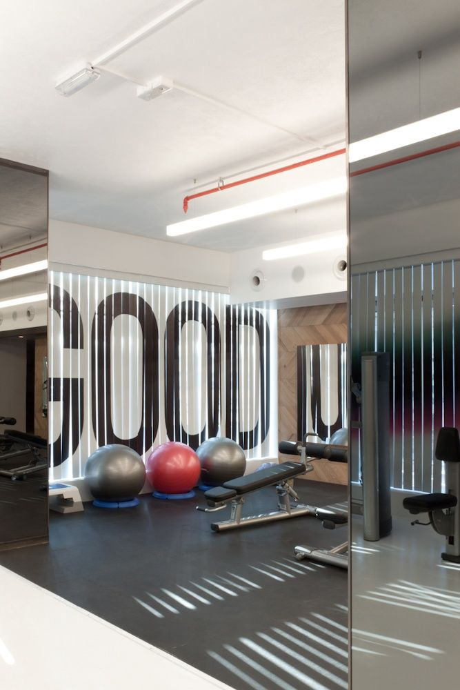 gym with super graphic 9 best Home