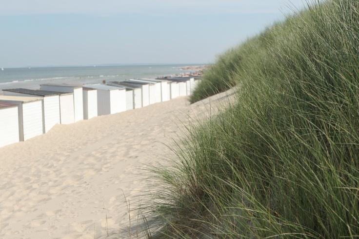 Strandhuisjes in Oostkapelle