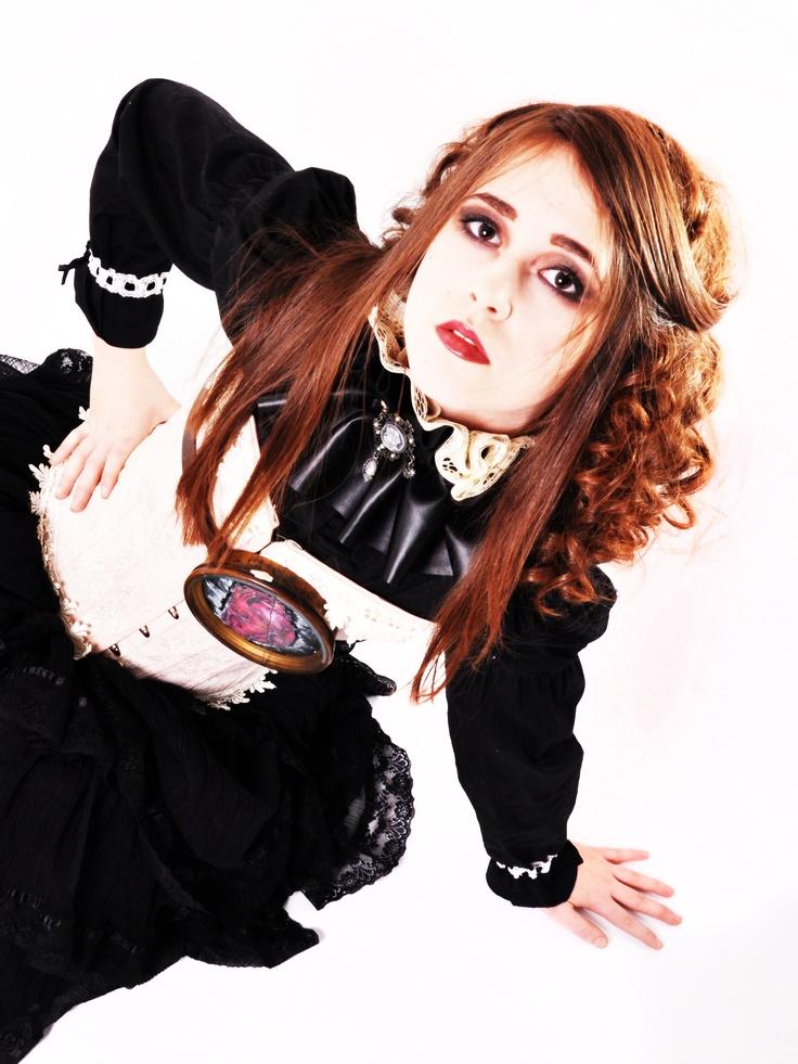 Model: Sophie Georgina Parsons Photohrapher: Vicki Boulter at 'Devon Portfolio'    Steampunk Gothic