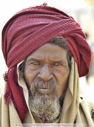 Old Man, Varanasi India