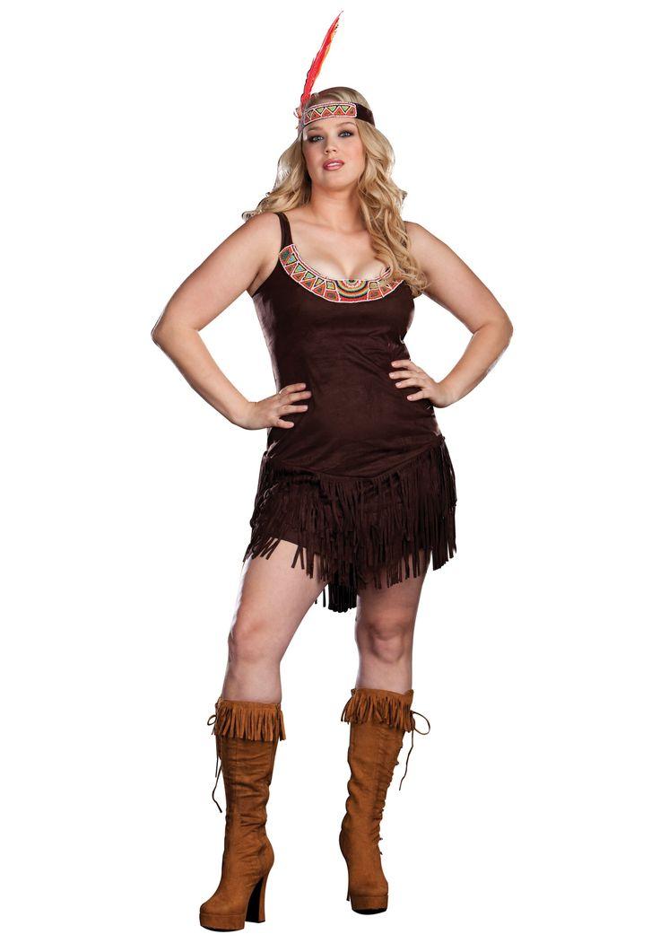 Plus Sexy Pocahontas Costume