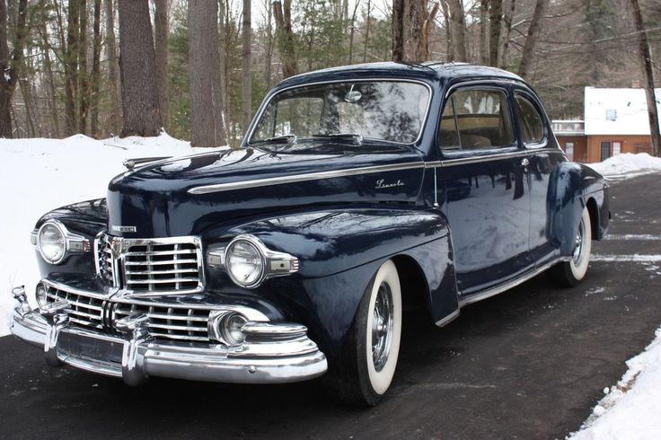 1947 Lincoln Custom Club Coupe