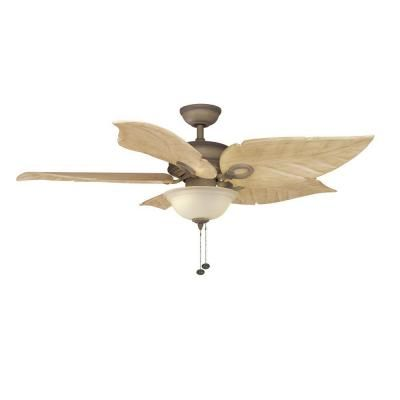 Hampton bay costa mesa 56 in indoor outdoor weathered Master bedroom ceiling fans with lights