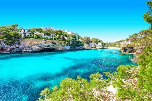 48 hours in Majorca. Cala Santanyi Mallorca Spain