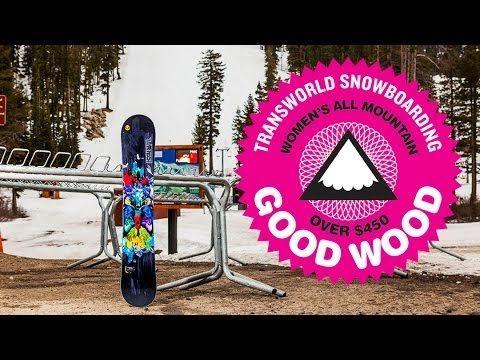 LIB Tech TRS Good Wood 2014 Women's All Mtn - TransWorld SNOWboarding