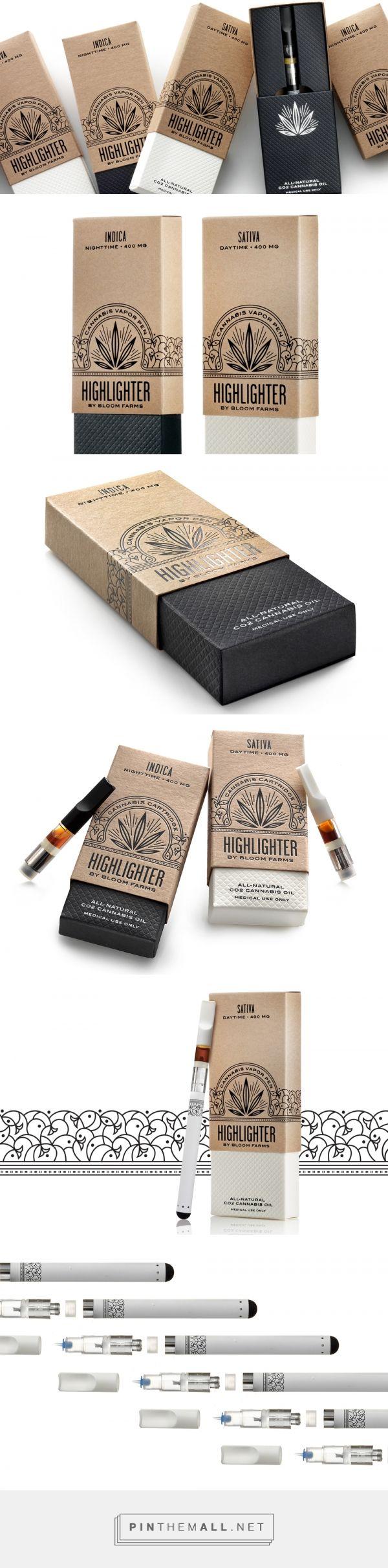 Highlighter by Bloom Farms — The Dieline - Branding & Packaging Design