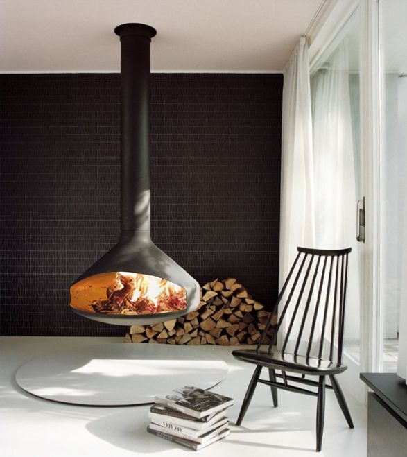 Fireplaces and Architecture interior design