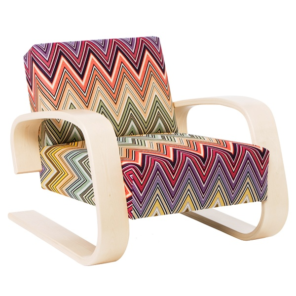 aalto 400 tank chair missoni fabric chairs i wish i had. Black Bedroom Furniture Sets. Home Design Ideas