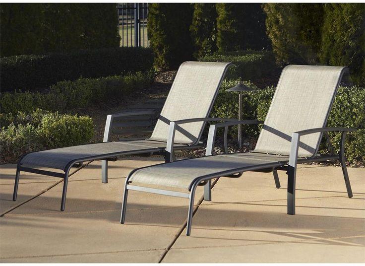 cosco outdoor adjustable aluminum chaise lounge chair serene ridge patio furniture set 2 pk dark brown please continue read